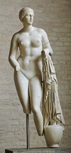 Statue of Aphrodite (with missing feet!)